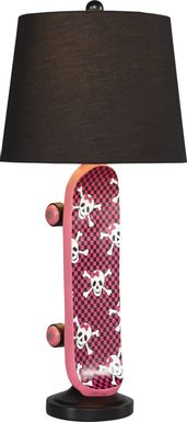 Kids Skate Avenue Pink Lamp