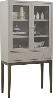 Skyler Platinum Display Cabinet