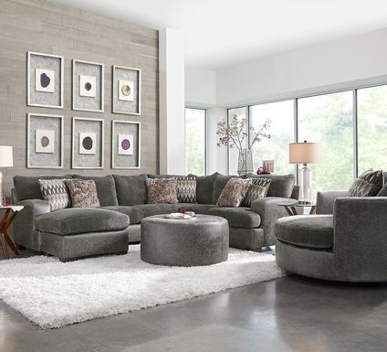Skyline Park Gray 2 Pc Sectional