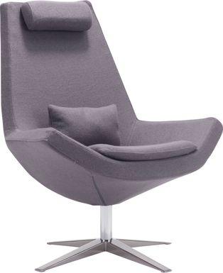 Skyr Gray Accent Chair