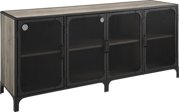 Slopeside Gray 60 in. Console