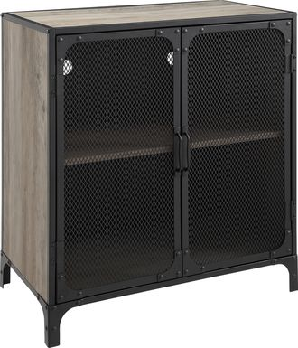 Slopeside Gray Accent Cabinet