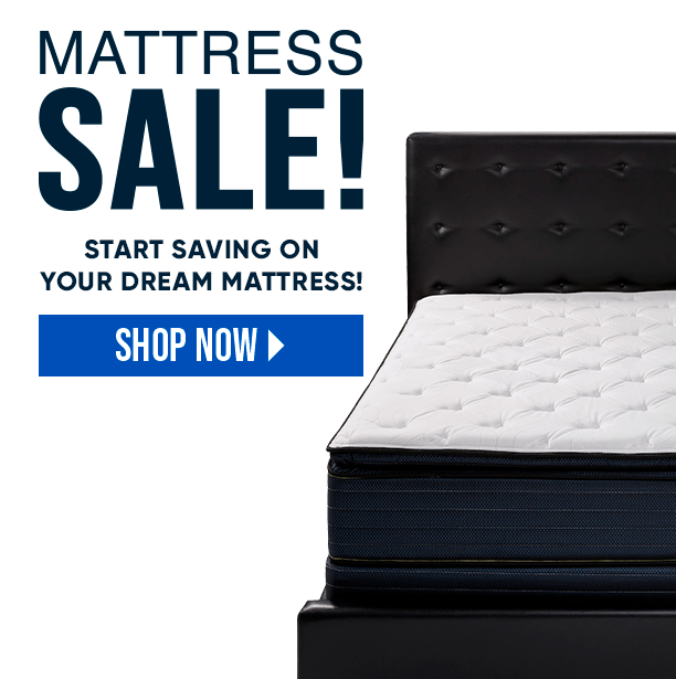 mattress sale. shop now