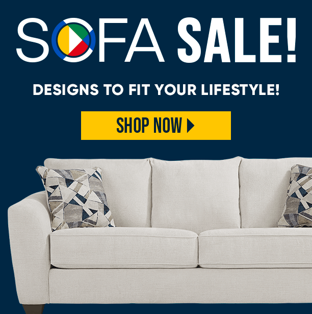 sofa sale. designs to fit your lifestyle. shop now