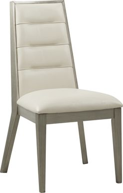 Sofia Vergara Delanco Pewter Side Chair