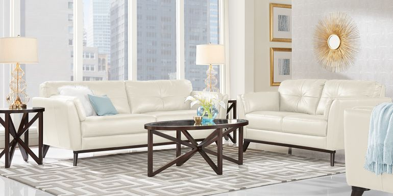 Sofia Vergara Gabriele Buff 2 Pc Leather Living Room