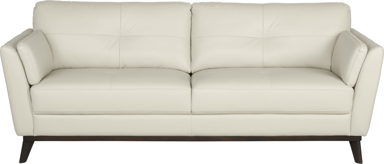 Sofia Vergara Gabriele Buff Leather Sofa