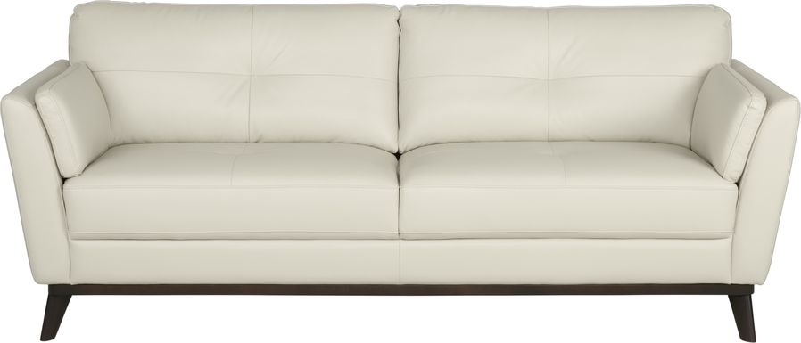 Sofia Vergara Gabriele Buff Leather Sofa