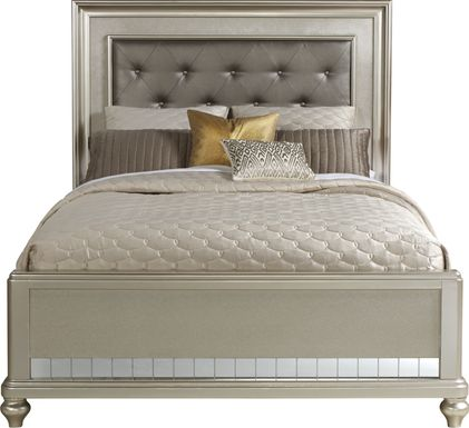 Sofia Vergara Paris Silver 3 Pc King Bed