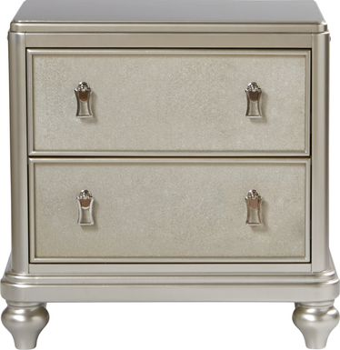 Sofia Vergara Paris Silver Nightstand