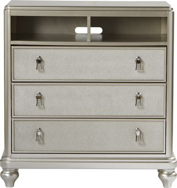 Sofia Vergara Paris Silver Small Chest