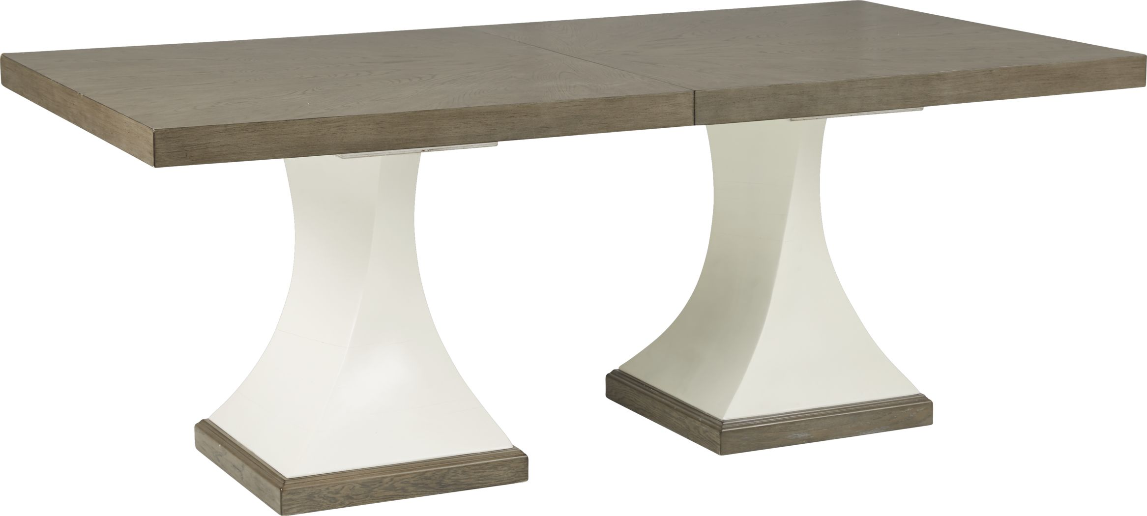 Sofia Vergara Santa Fiora White Rectangle Dining Table