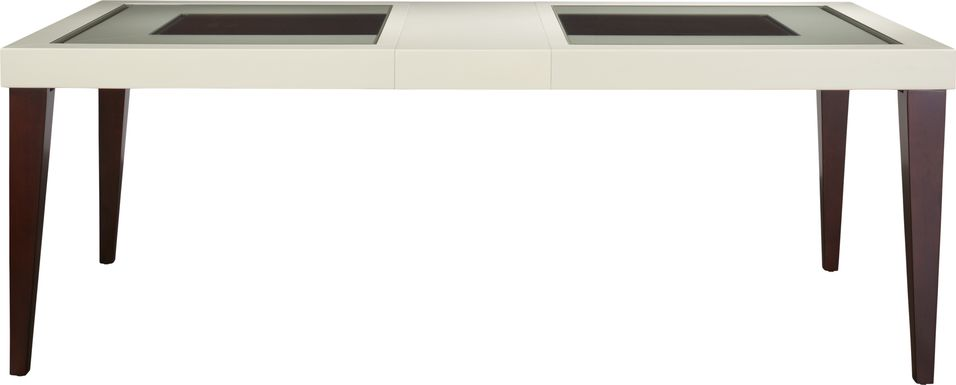 Sofia Vergara Savona Ivory Rectangle Dining Table