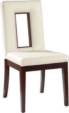 Sofia Vergara Savona Ivory Upholstered Side Chair