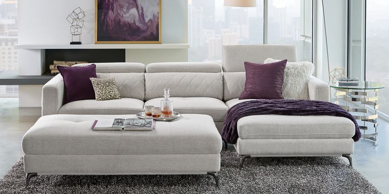 Sofia Vergara Via Sorrento Dove 2 Pc Sectional