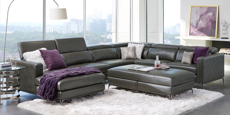 Sofia Vergara Via Sorrento Granite 4 Pc Sectional