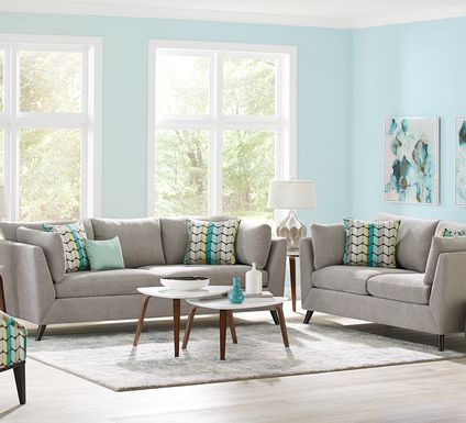 Sofia Vergara West Loft Dove 6 Pc Living Room