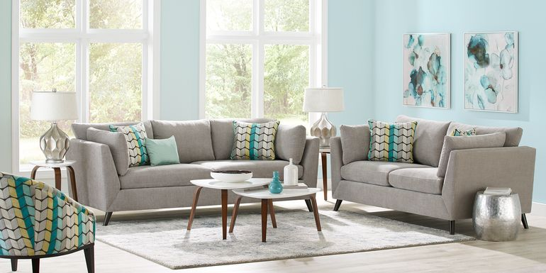 Sofia Vergara West Loft Dove 5 Pc Living Room
