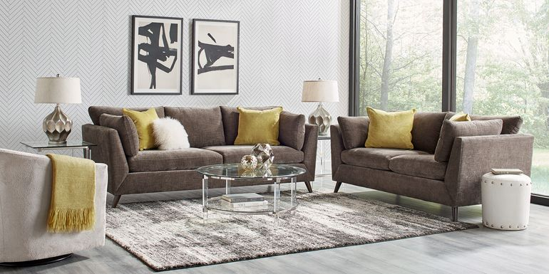 Sofia Vergara West Loft Slate 5 Pc Living Room