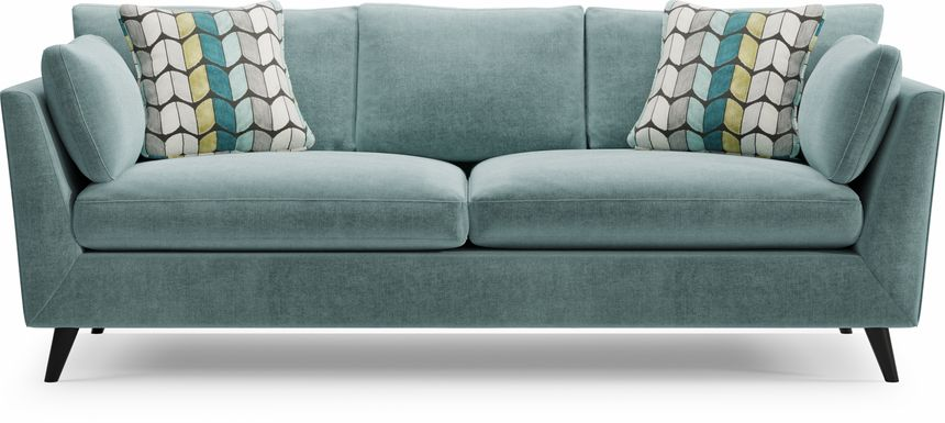 Sofia Vergara West Loft Teal Sofa