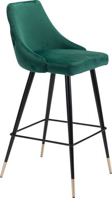 Solveig Green Barstool