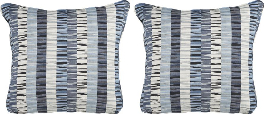 iSofa Sonic Blues Accent Pillows (Set of 2)