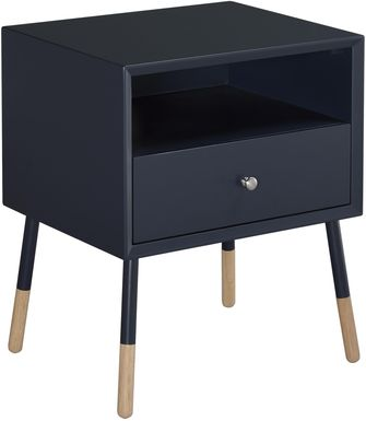 Sonria Black Accent Table