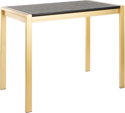 Sora Black Counter Height Dining Table