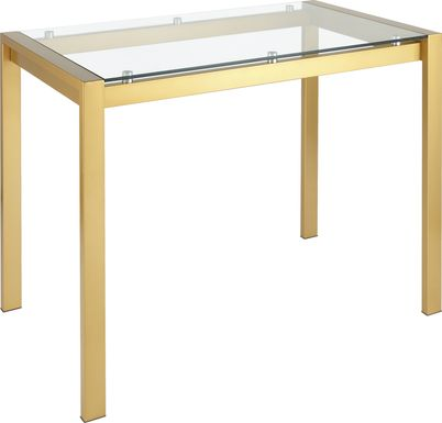 Sora Gold Counter Height Dining Table