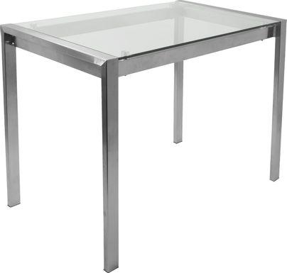 Sora Silver Counter Height Table