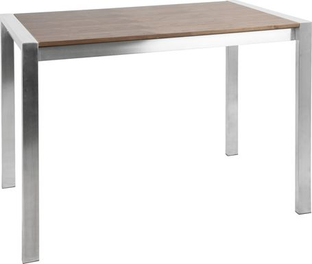 Sora Walnut Counter Height Table