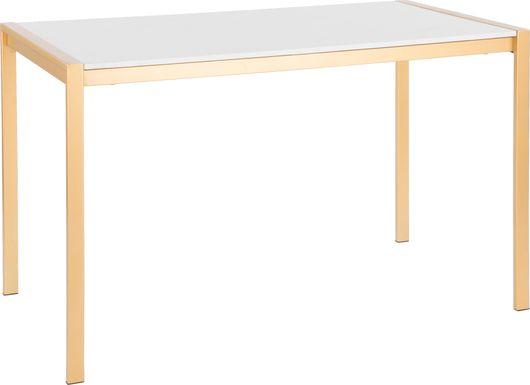 Sora White Dining Table