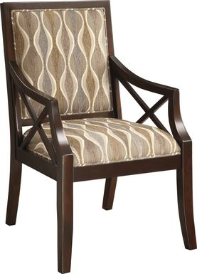 Souk Beige Accent Chair