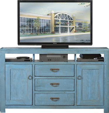 South Creek Blue 66 in.  Console