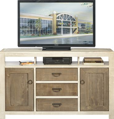 South Creek Two-Tone 66 in.  Console