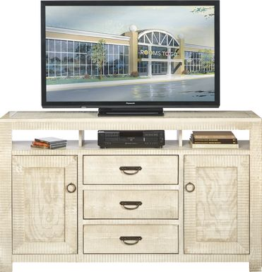 South Creek White 66 in. Console