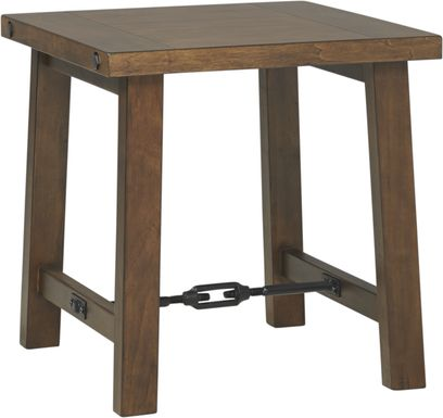 South River Brown End Table