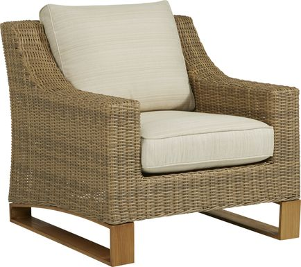 Southport Tan Outdoor Chair