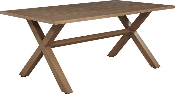 Southport Tan Outdoor Dining Table