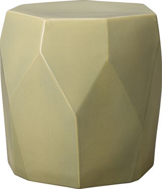 Spaldwick Tan Outdoor Stool