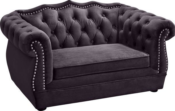 Spaniel Gray Pet Bed