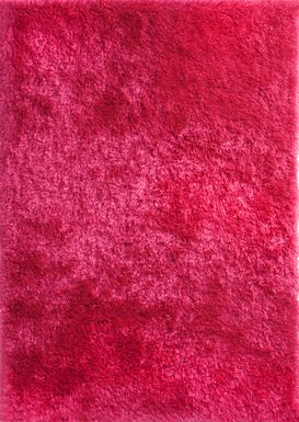 Sparkle Shag Hot Pink 4' x 6' Rug