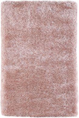 Sparkle Shag Pink 3' x 5' Rug