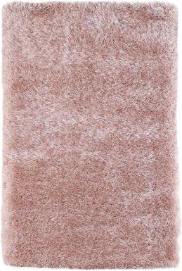 Sparkle Shag Pink 4'4 x 6'9 Rug