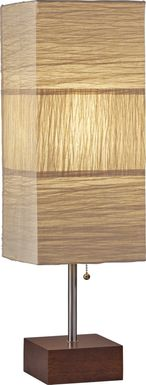 sparling walnut table lamp