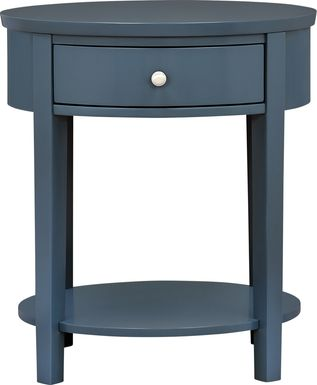 Spaulding Blue Accent Table