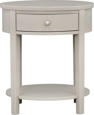 Spaulding Silver Accent Table