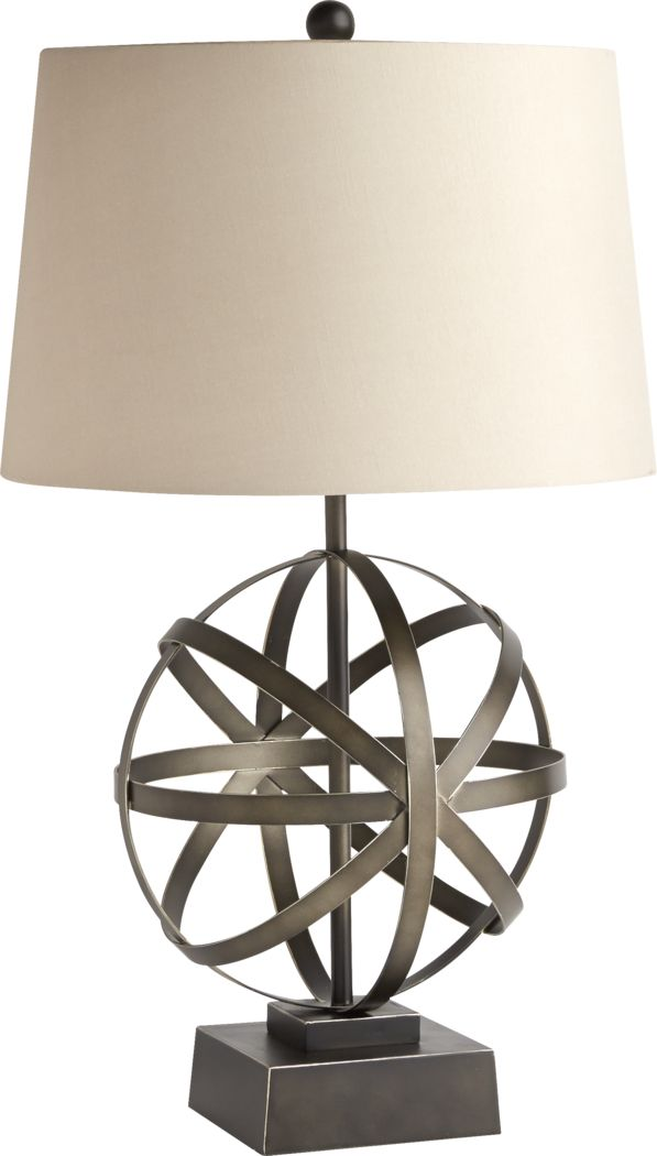 Spiral Atom Table Lamp
