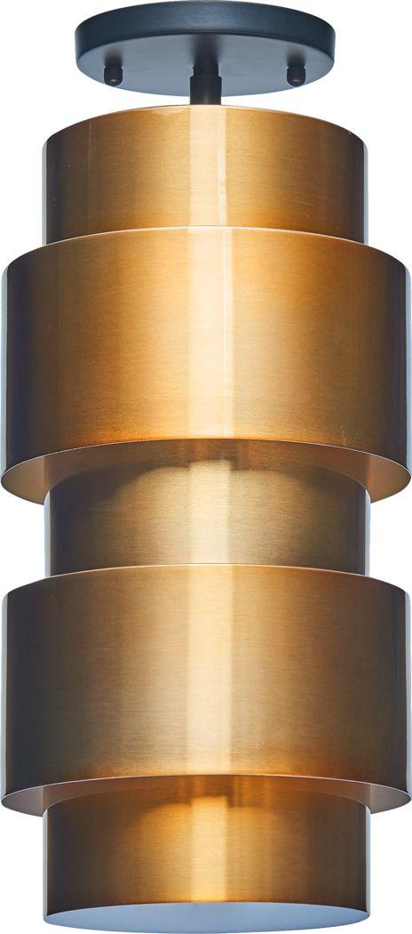 Spirea Court Copper Chandelier