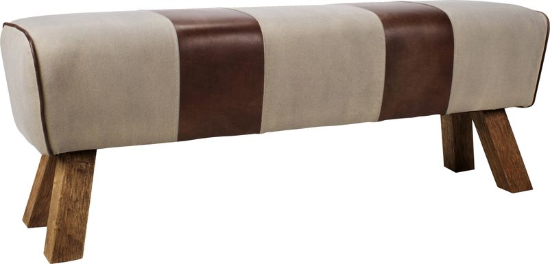 Sportier Brown Bench